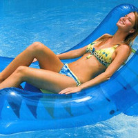 Swimming Pool Inflatable Rocker - Adjustable Reclining Position