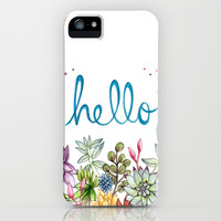 hello spring iPhone & iPod Case by Brooke Weeber