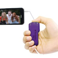 TheSelfie by GabbaGoods - Camera Remote Shutter Release for Apple iPhone, iPad, and iPod touch - Purple