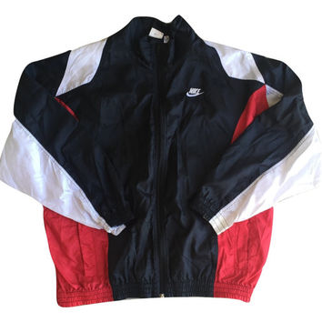 Vintage Nike Windbreaker Jacket Men Women Unisex Clothing Rain jacket