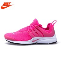 Original New Arrival Authentic Nike Mesh Surface Women's Air Presto Breathable Running Shoes Sneakers 878068-600