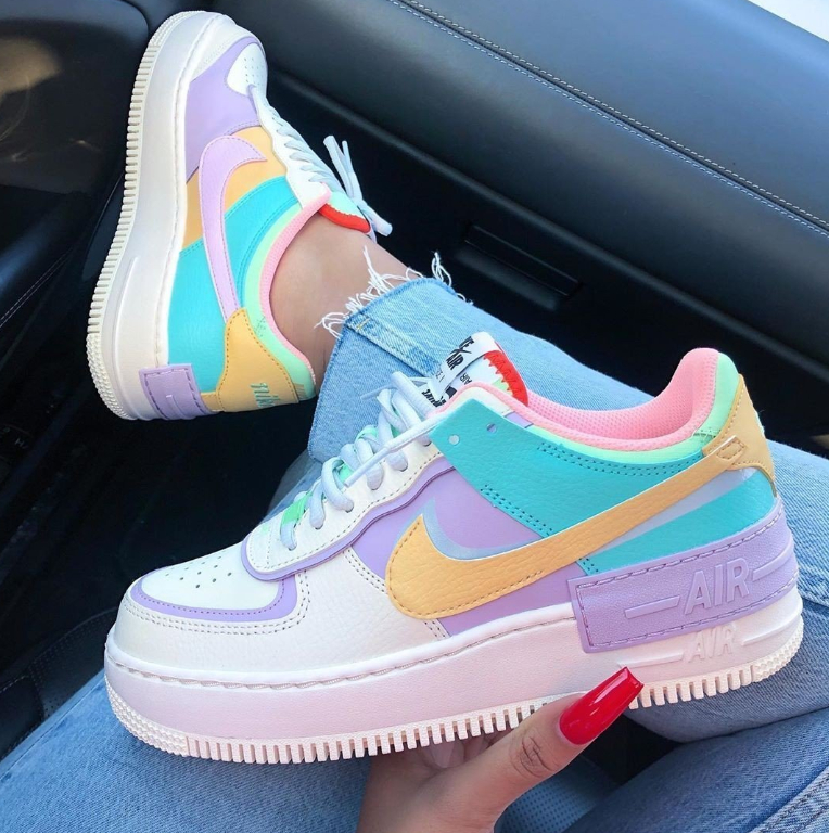 Image of Nike W AF1 Shadow SE Low top sports casual shoes