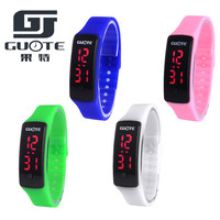 2016 New High Quality Double Batteries Square Dial LED Bracelet Digital Watches For Men&Women&Child Clock Sports Wristwatch Saat