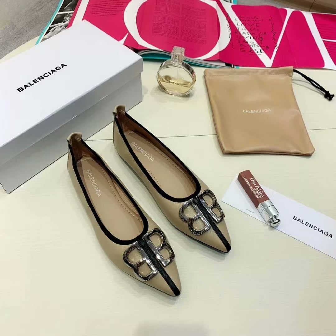 Image of Balenciaga  Women Casual Shoes Boots fashionable casual leather01gh