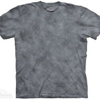 Smoke SP Solid Color Gray Tie Dye T-Shirt