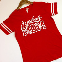 Basball Mom Shirt - Ruffles with Love - RWL - Baseball Mom