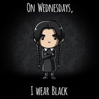On Wednesdays, I Wear Black | Funny, cute & nerdy tees