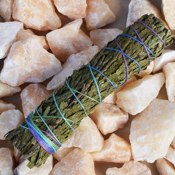 Cedar Smudge Stick - Small Cedar Smudging Bundle for Spiritual Protection