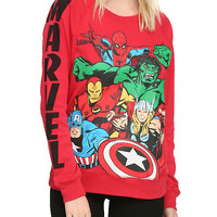Marvel Avengers Girls Pullover Top