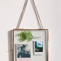 Hanging Glass Display Frame - 8x8 | Urban Outfitters