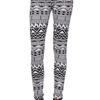 LA Hearts Tribal Printed Leggings at PacSun.com