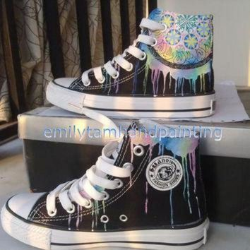 CREYUG7 Dreamcatcher Converse Sneakers-Custom Shoes Hand Painted High Top