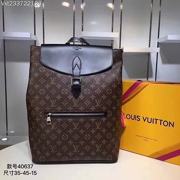 LV Louis Vuitton MEN'S MONOGRAM CANVAS PALK BACKPACK BAG