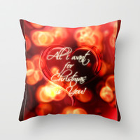 All i want... Throw Pillow by Emiliano Morciano (Ateyo)