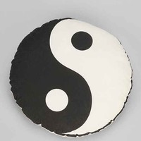 Yin-Yang Pillow- Black & White One