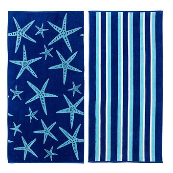 Two Pack Beach Towels