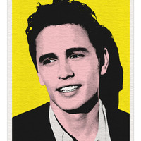 James Franco (Yellow) - 8x10 Pop Print