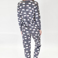 MOUNTAINS POLAR FLEECE PJ SET | P.J. Salvage