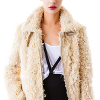 English Rose The Teddy Faux Fur Jacket