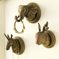 The Emily + Meritt Animal Wall Hooks