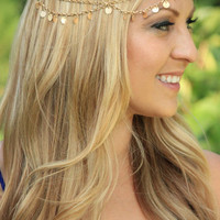 Jewelry Forehead Headpiece Hair Headband
