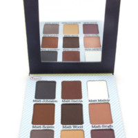 The Balm Cosmetics 9 Colors Natural Meet Matt(e) Nude Eyeshadow