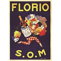 Florio S.O.M. Vintage Ad Poster by Marcello Dudovich