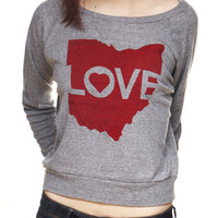 Love Ohio - Light-Weight Pullover — CLE Clothing Co.