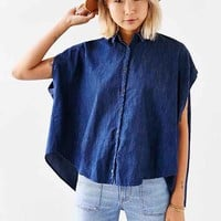 BDG Chambray Muscle Button-Down Shirt