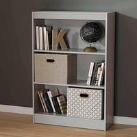 3-Shelf Bookcase, Bookshelf for Dorm Room, Home Office, Living Room Kids Room Bedroom Furniture