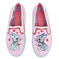 Women's Flopsy In Love Pink Slip-On