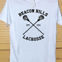 Teen Wolf Beacon Hills Lacrosse  DTG Printed shirt for T shirt Mens and T shirt Woman Size S, M, L, XL and XXL