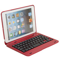 Best Price Foldable Wireless Bluetooth Rechargeable Keyboard Case Cover For apple iPad Mini 1 mini 2 mini 3  7.9 inch