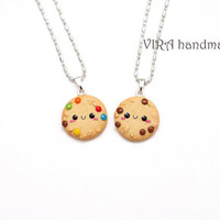 Kawaii Cookies Best Friends Necklaces
