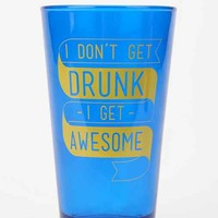 Get Awesome Pint Glass - Blue One