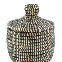 Lidded Mini Basket