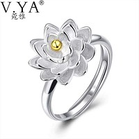 Hyacynthe Jyn Flower Ring Gift, Sterling Silver by VEA Macchar Cosplay Catalogue