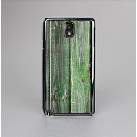 The Mossy Green Wooden Planks Skin-Sert Case for the Samsung Galaxy Note 3