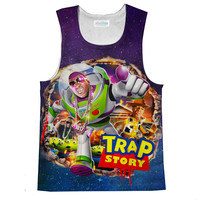 Trap Story Loose Tank Top