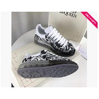 Alexander Mcqueen Graffiti Oversized Sneakers With Air Cushion Sole Reference #0123