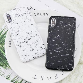 iPhone X Fashion Starry Sky Case