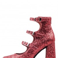 Jeffrey Campbell Shoes INGRAM-2 Shop All in Red