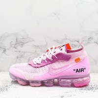 Off-white X Nike Air Vapormax Flyknit 2.0 Pink - Best Deal Online