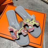 Hermes Fashion Slippers-6