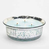 Mercury Glass Three-Wick Candle- Grapefruit Moonstone One