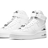 """Nike Air Force 1 High '07 LV8 3 """"White/Black"""" high-top sneakers shoes"""