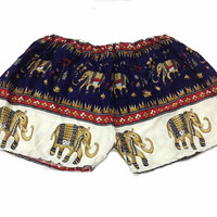Hippie Hipster clothes shorts elephant pants summer shorts pants Pom pom Shorts/ harem pants/shorts bohemian/Shorts Boho pants/comfy pants