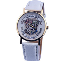 Harry Potter Classic Hogwarts School Magic Watch Leather