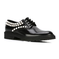 Saint Laurent 'army' Derby Shoes - Biondini Paris - Farfetch.com