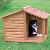 Dog House Medium Rustic Dog House